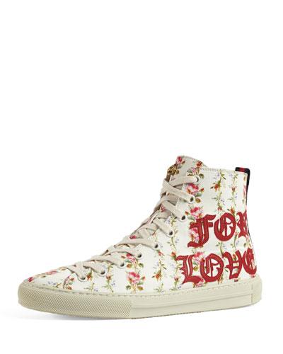 Major Blind For Love High Top Sneaker