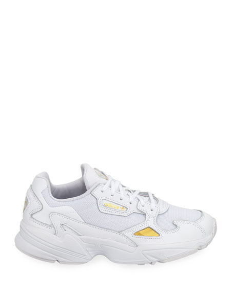 Adidas Falcon Mixed Media Trainer Sneakers