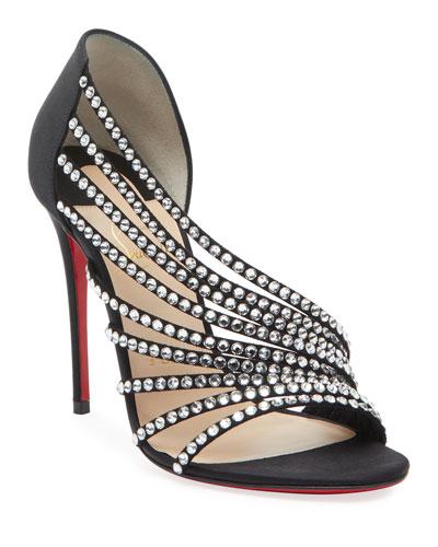 Norina Embellished Red Sole Sandals