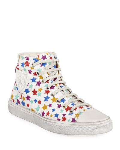Bedford Star-Print High-Top Sneakers