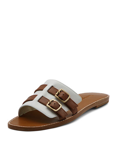 Karson Flat Buckle Sandals