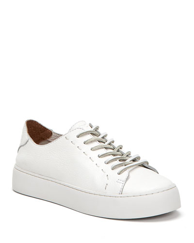 Lena Low-Top Lace-Up Sneakers