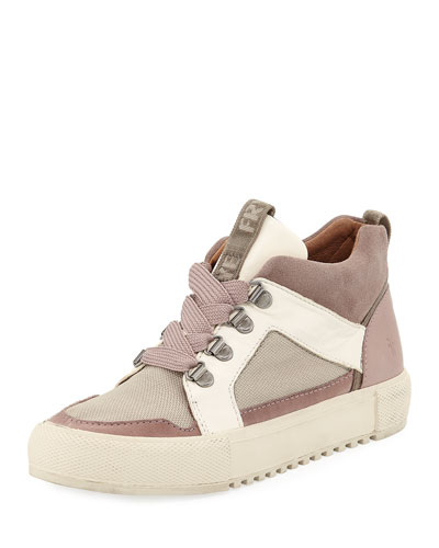 Gia Lug Suede Trail Sneakers