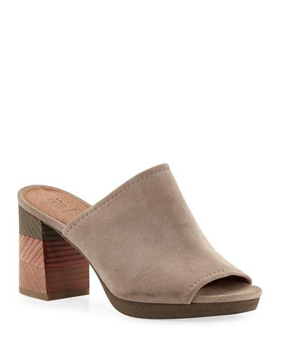 Blake Suede Mule Sandals