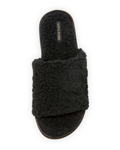 Halie Faux-Shearling Slippers
