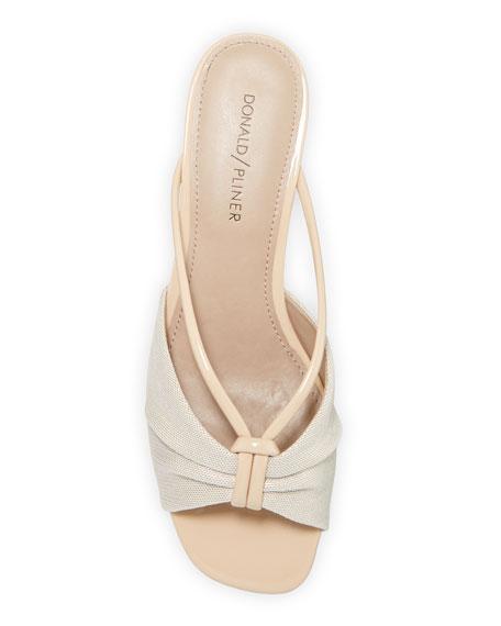 Donald J Pliner Andra Wishbone-Strap Wedge Sandals