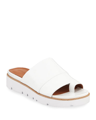 Lavern Easy Patent Slide Sandals