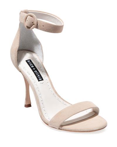 Danelle Strappy Suede Sandals