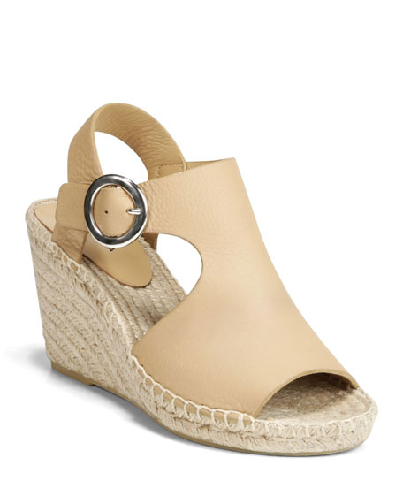 Via Spiga Shoes NOLAN LEATHER SLINGBACK ESPADRILLES