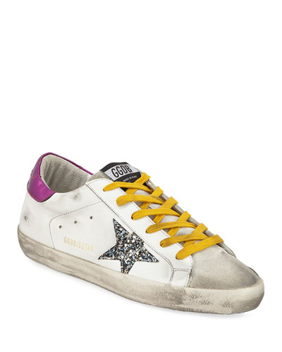 Superstar Mixed-Media Sneakers