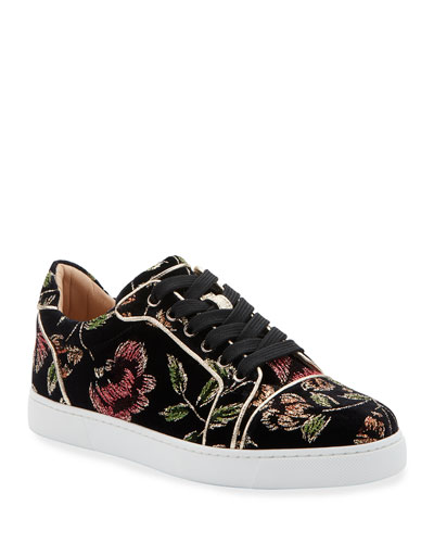 Vieira Orlato Red Sole Sneakers