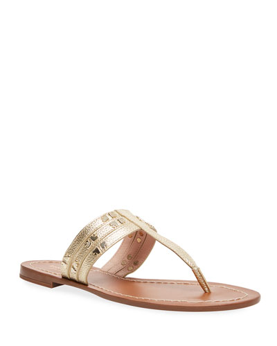 d8cb5705dbf5 kate spade new york carol metallic studded sandals