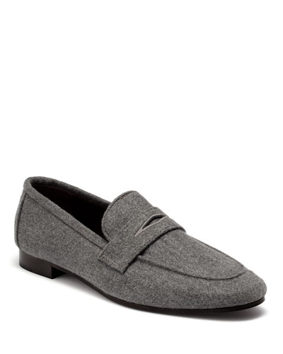 Aspen Flannel Flaneur Loafers