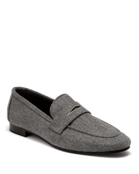 Bougeotte Aspen Flannel Flaneur Loafers