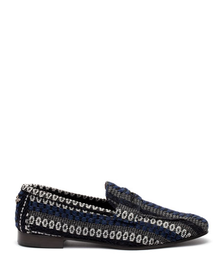 Bougeotte Chalet Drill Tweed Loafer