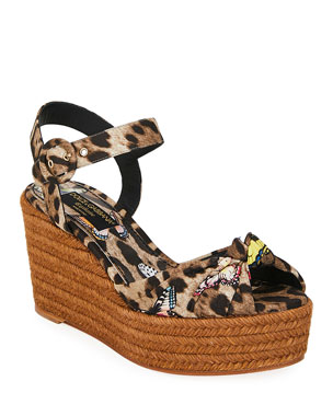 6de0f366bb2 Women's Espadrille Wedges, Flats & More at Neiman Marcus