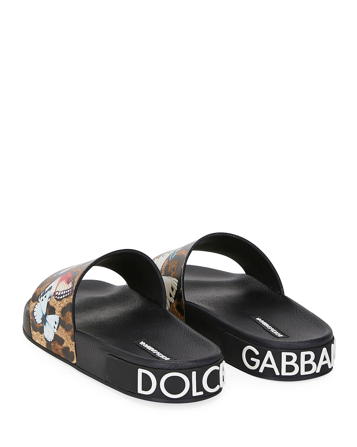 dolce and gabbana on my flip flops off