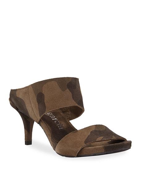 Pedro Garcia Winda Double Camo Sandals