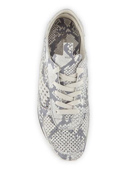Pedro Garcia Omega Snake-Print Runner Sneakers