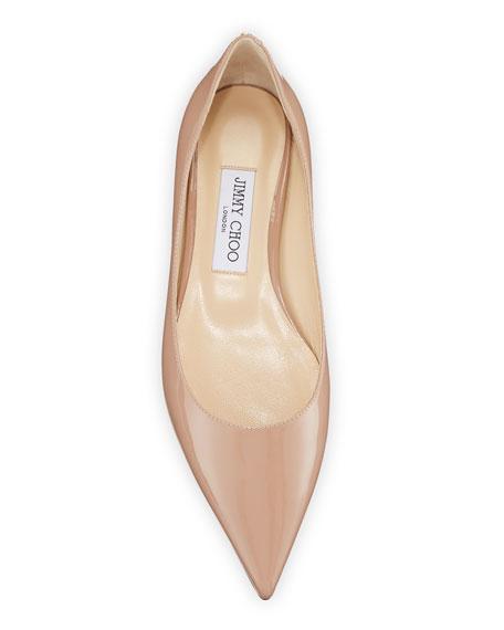 Jimmy Choo Love Patent Ballet Flats