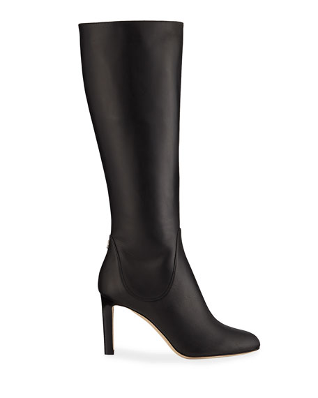 Jimmy Choo Tempe Leather Knee Boots