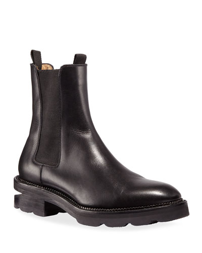 Andy Low-Heel Gored Ankle Boots