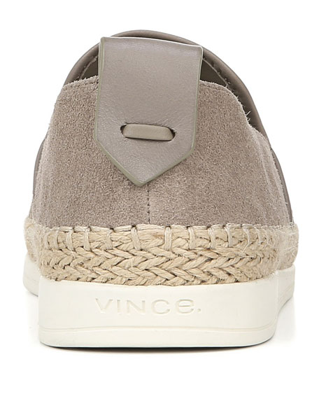 Vince Silas Sport Suede Slip-On Sneakers