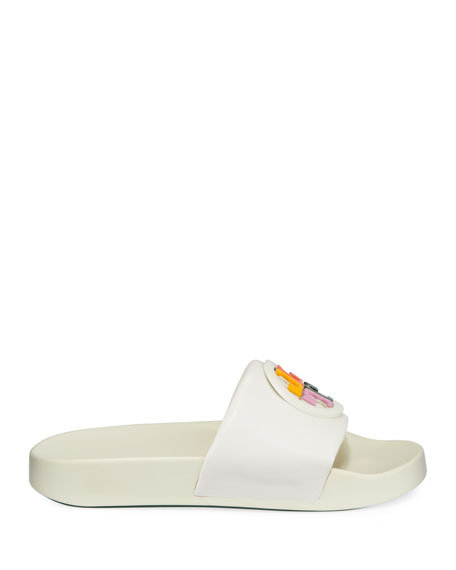 Tory Burch Lina Slide Pool Sandals