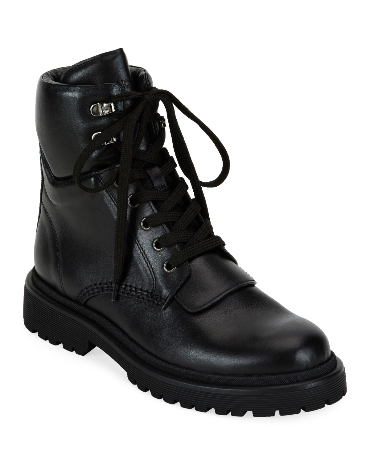 Patty Scarpa Leather Boots by Moncler