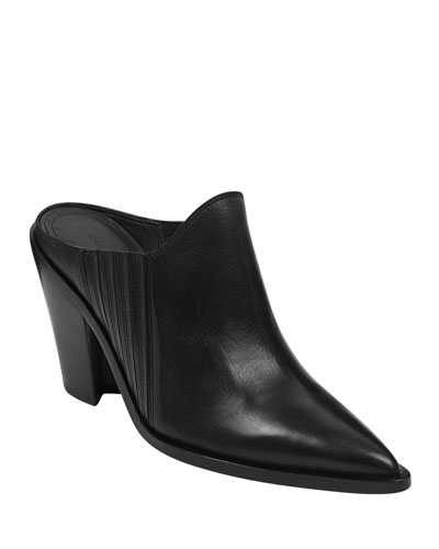 Kaden Slide Leather Mules