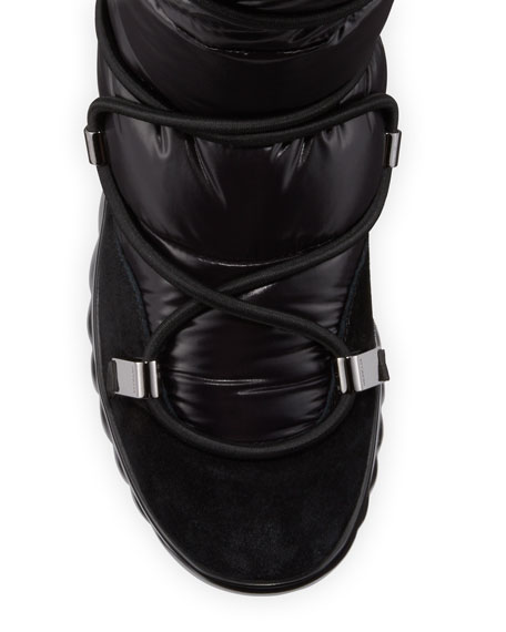 Moncler Cora Quilted Apres Ski Boots Neiman Marcus