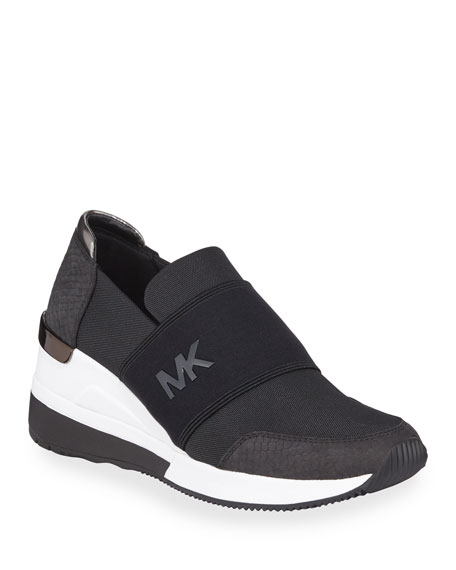 MICHAEL Michael Kors Felix Wedge Trainer Sneakers