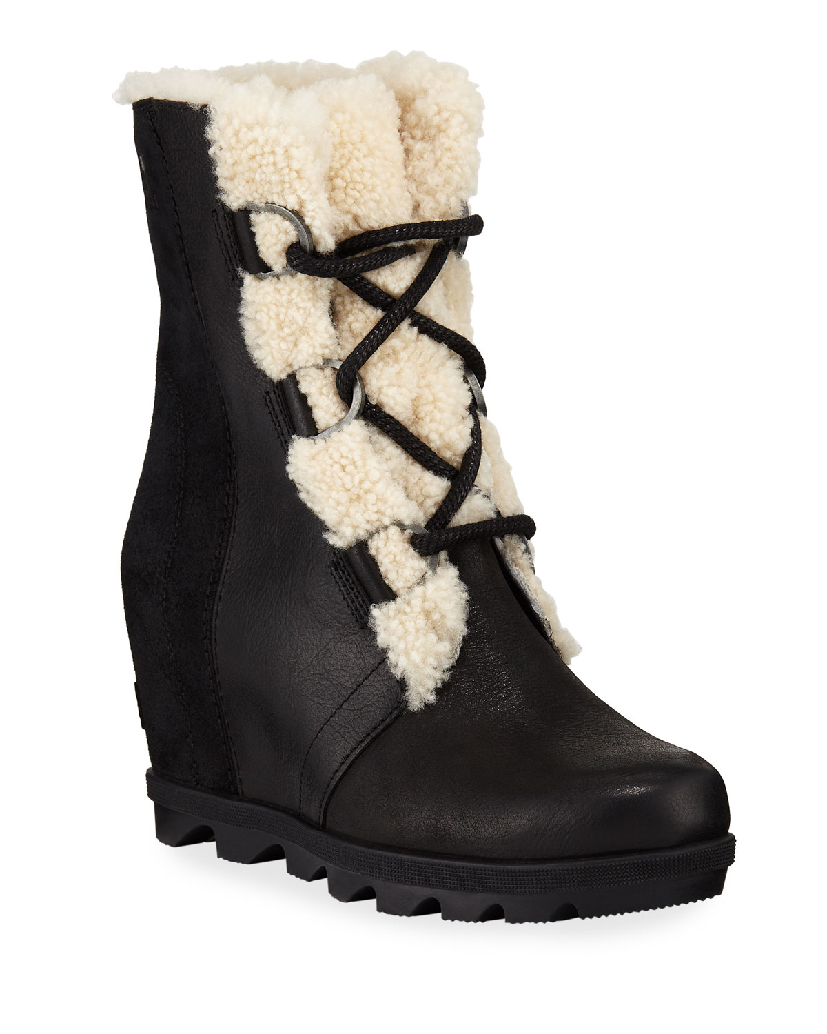 speical offer new design official store Sorel Joan of Arctic Wedge II Waterproof Boots with Shearling Fur ...