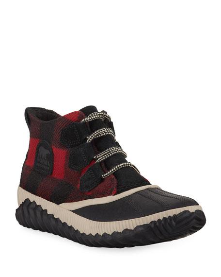 Sorel Out 'N About Plus Waterproof Tartan Boots
