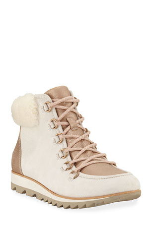 Sorel Harlow Lux Boots with Fur Trim
