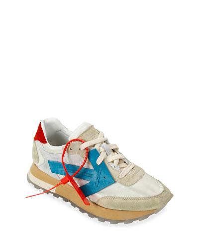 HG Runner Low-Top Suede Sneakers