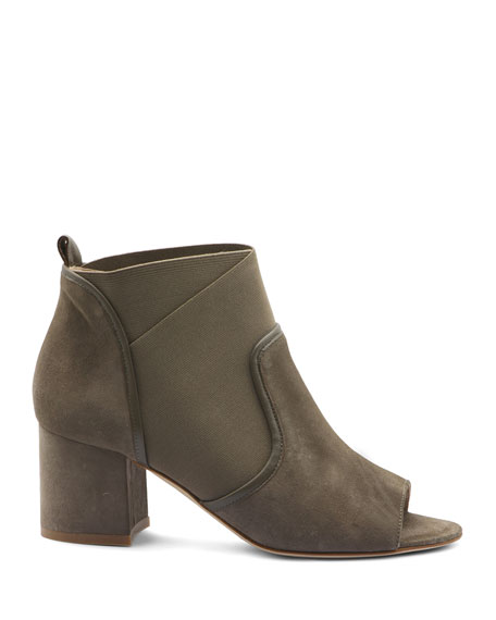 Bettye Muller Concept Napa and Stretch Ankle Booties