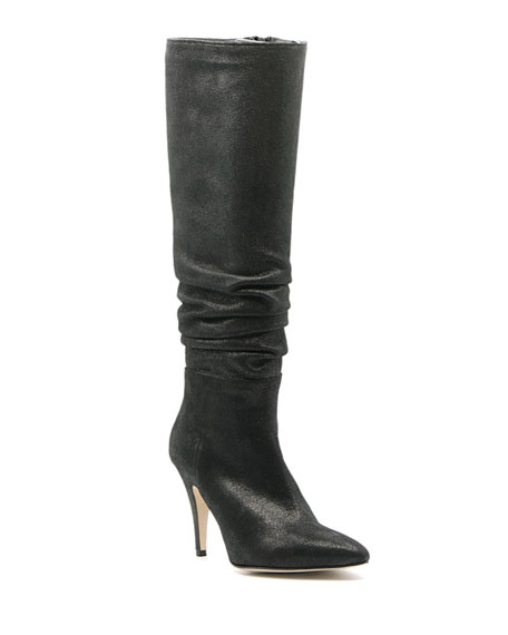 Bettye Muller Concept Tall Scrunched Pointed Boots