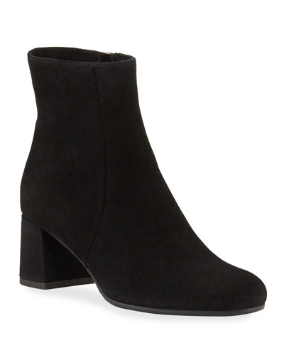 Jiji Waterproof Low-Heel Booties