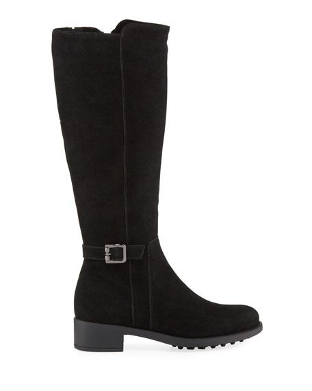 La Canadienne Silvana Waterproof Buckle Knee Boots