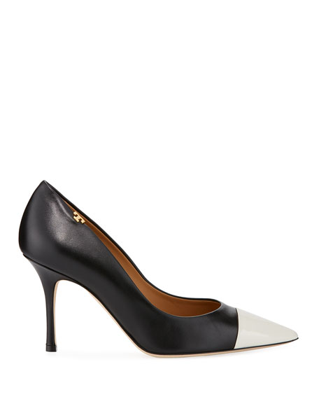 Tory Burch Penelope Two-Tone 85mm Pumps
