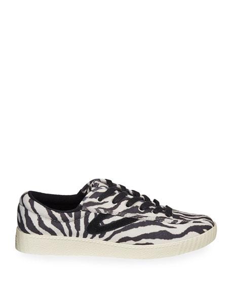 tretorn nylite 25 plus leopard sneakers