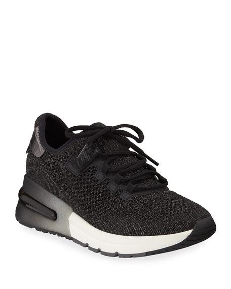 Ash Krush Bis Mesh Sneakers, Black