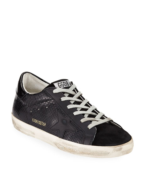 Golden Goose Superstar Tonal Leather Sneakers