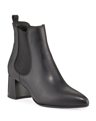 Duncan Weatherproof Leather Booties