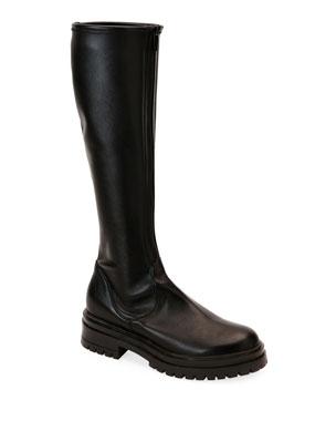 19dbe779bb Gianvito Rossi Over-The-Knee Eco Napa Boots