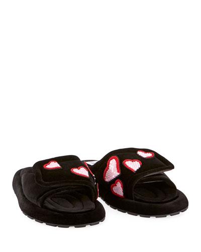 The Slipper Heart Slide Slippers