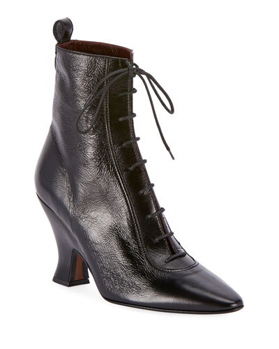 The Victorian Lace-Up Boots