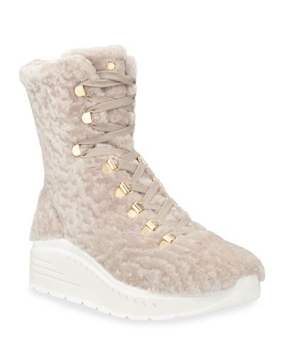 Oceane Tall Shearling Booties