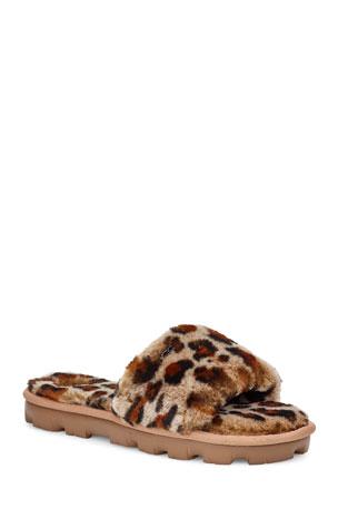 UGG Cozette Leopard Slide Slippers